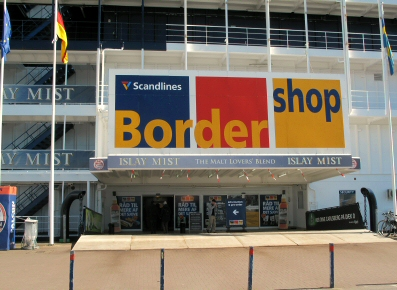 Border shop udefra