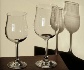 Stort og lille Selection-glas