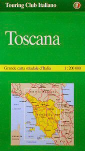Vejkort toscana
