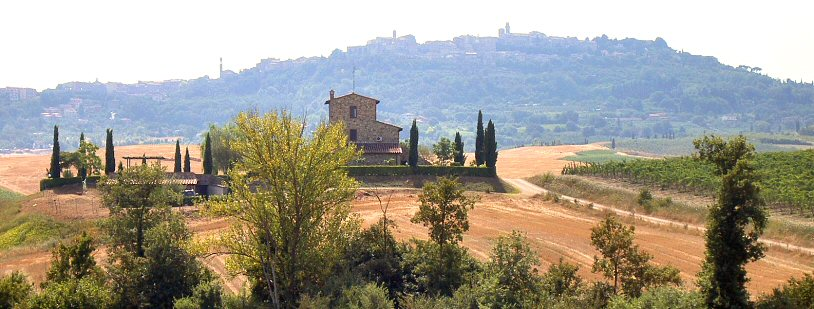 Montepulciano, omegnen